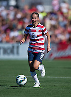 Heather Mitts.  The USWNT defeated Costa Rica, 8-0, during a friendly match at Sahlen's Stadium in Rochester, NY.