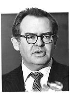 Herb Grey,, Ministre de l'Industrie et du Commerce du Canada, <br /> 3 Juin 1980 <br /> <br /> PHOTO :   agence Quebec Pressel
