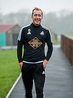 Thursday  21 January 2016<br />Pictured: Gerhard Tremmel of Swansea <br />Re: Swansea City Training Session at the Fairwood training ground