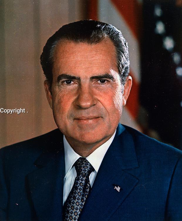 Richard M. Nixon, between circa 1969 and circa 1974