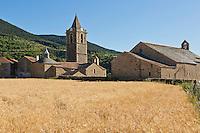 Europe/France/Languedoc-Roussillon/66/Pyrénées-Orientales/<br /> Cerdagne/Err:  L'église Saint-Génis  XIIéme  siecle et la Chapelle Notre Dame d'Err