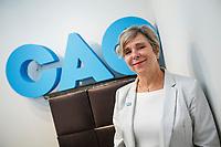 Nicole Leduc , candidate, CAQ, Verdun <br /> elections 2018<br /> <br /> PHOTO : Agence Quebec Presse