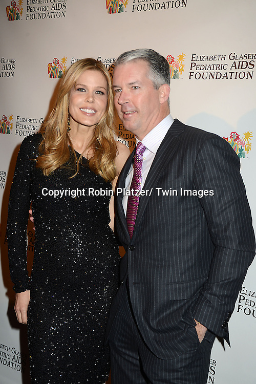 """Mary Alice Stephenson and boyfriend attends the Elizabeth Glaser Pediatric Aids Foundation  with the inaugural  """"Global Champions of a Mother's Fight"""" Awards Dinner on February 20, 2013 at .the Mandarin Oriental Hotel in New York City."""