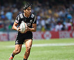 Rieko Ioane. Hong Kong Sevens, 28 March 2015. NZ drew with Portugal 24-24. Photo: Marc Weakley