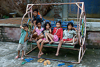 Children at Phnom Kulen, Cambodia
