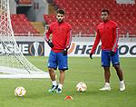 07.11.18 Rangers training at the Spartak Stadium, Moscow: Daniel Candeias