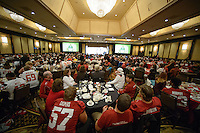 San Francisco, Ca - 2015: Foster Farms Bowl 2015 between Stanford University and the University of Maryland.