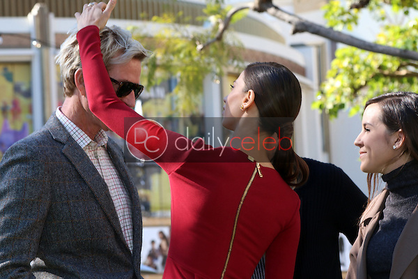 Matthew Modine, Angela Sarafyan<br /> at the Greet the Actor Statue - SAG Event, The Grove, Los Angeles, CA 01-25-17<br /> David Edwards/DailyCeleb.com 818-249-4998