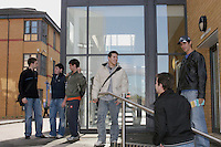 Students at the University of Surrey.