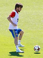 Spain's David Jimenez Silva during training session. June 5,2017.(ALTERPHOTOS/Acero)