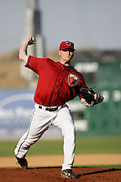 May 31 2009: Chris Hicks of the Lancaster JetHawks during game against the Modesto Nuts at Clear Channel Stadium in Lancaster,CA.  Photo by Larry Goren/Four Seam Images