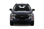 Car photography straight front view of a 2019 Ford EcoSport SES 5 Door SUV
