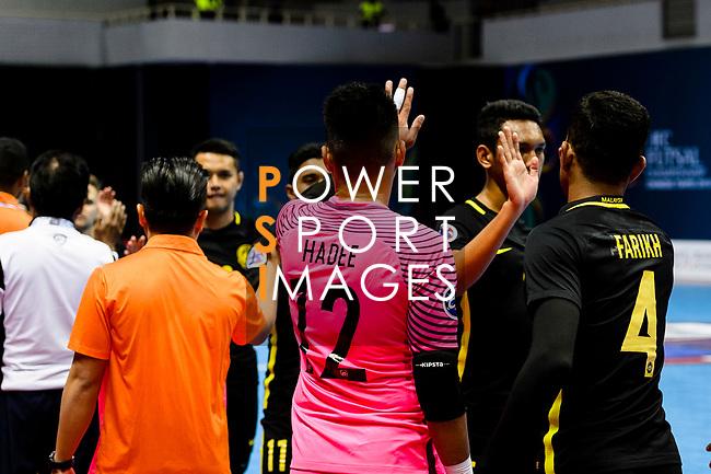 AFC Futsal Championship Chinese Taipei 2018 match between Malaysia and Chinese Taipei at  Xinzhuang Gymnasium on 03 February 2018 in Taipei, Taiwan. Photo by Marcio Rodrigo Machado / Power Sport Images