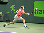 March 26 2018: David Ferrer (ESP) loses to Alexander Zverev (GER) 2-6, 6-2, 6-4, at the Miami Open being played at Crandon Park Tennis Center in Miami, Key Biscayne, Florida. ©Karla Kinne/Tennisclix/CSM