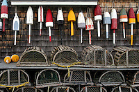 Buoys & Lobster Traps  #S4