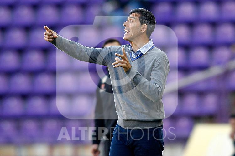 Levante UD's coach Juan Ramon Lopez Muniz during La Liga Second Division match. March 11,2017. (ALTERPHOTOS/Acero)