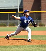 Jack Little - Los Angeles Dodgers 2021 spring training (Bill Mitchell)