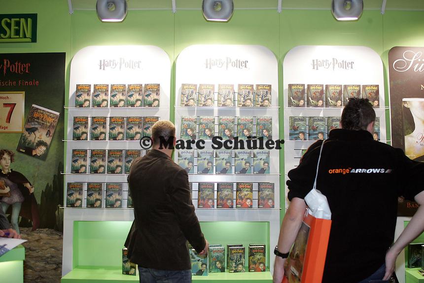 Harry Potter Bücher auf der Buchmesse