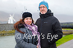 Enjoying a stroll in Blennerville on Sunday, l to r: Carolina Cogollo and Gerry Brosnan.