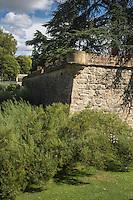 Espagne, Navarre, Pampelune, Parc de la Taconera, Bastion de la Taconera // Spain, Navarra, Pamplona,   Gardens of La Taconera, Taconera Bastion