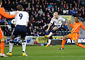 JOHNNY RUSSELL SHOOTS AT GOAL