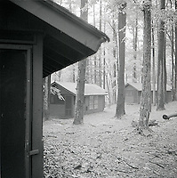 Cabins in the woods<br />