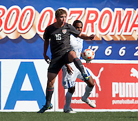 Nicholas Palodichuk. The Under-17 US Men's National Team defeated Honduras 3-0 in the 2009 CONCACAF Under-17 Championship on April 25, 2009 in Tijuana, Mexico.