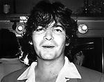John Prine, backstage at the Bottom Line  in July 1978