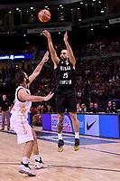 New Zealand Tall Blacks' Ethan Rusbatch in action during the FIBA World Cup Basketball Qualifier - NZ Tall Blacks v Jordan at Horncastle Arena, Christchurch, New Zealand on Thursday 29 November  2018. <br /> Photo by Masanori Udagawa. <br /> www.photowellington.photoshelter.com