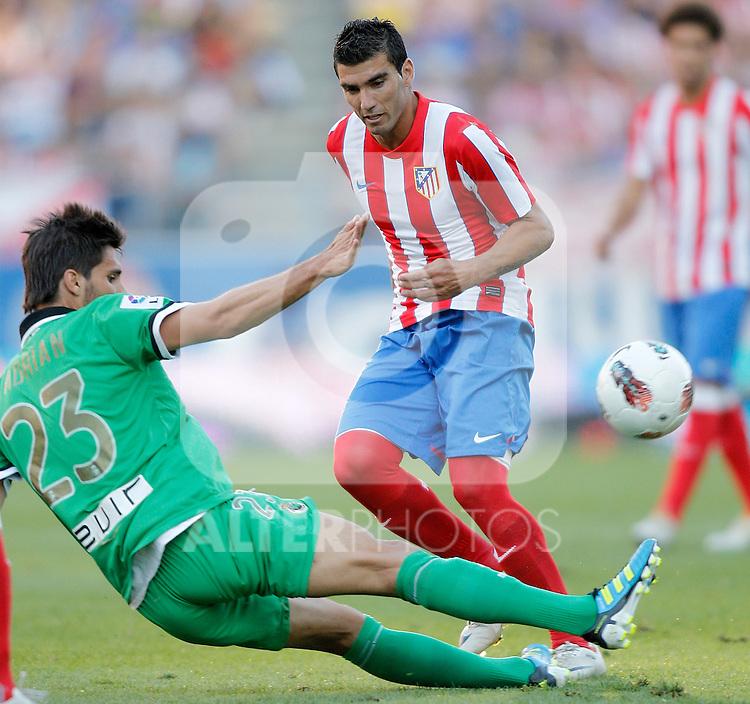 Atletico de Madrid's Jose Antonio Reyes during La Liga Match. September 18, 2011. (ALTERPHOTOS/Alvaro Hernandez)