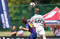Kansas City, MO. - Sunday July 8, 2018: US Soccer Boys' DA U-16/17 Semi Final Seattle Sounders FC vs Barca Academy at Swope Soccer Village.