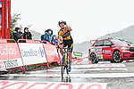 Primoz Roglic (SLO) Jumbo-Visma wins Stage 17 of La Vuelta d'Espana 2021, running 185.8km from Unquera to Lagos de Covadonga, Spain. 1st September 2021.    <br /> Picture: Cxcling   Cyclefile<br /> <br /> All photos usage must carry mandatory copyright credit (© Cyclefile   Cxcling)