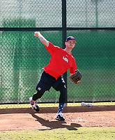 Brandon Dickson - USA Baseball Premier 12 Team - October 25- 28, 2019 (Bill Mitchell)