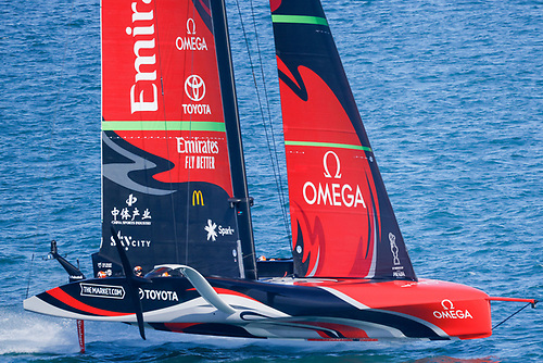 On day 7 of the 36th America's Cup, the Kiwis scored the 7th point they needed