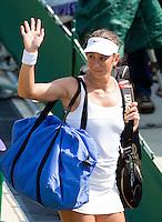 25-6-09, England, London, Wimbledon, Rossana De Los Rios