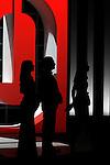 The actors Cayetana Guillen Cuervo, Jose Coronada and Barnara Goenaga during the Openning Ceremony of the 60th San Sebastian Donostia International Film Festival - Zinemaldia.September 20,2012.(ALTERPHOTOS/ALFAQUI/Acero)