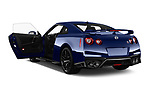 Car images close up view of a 2018 Nissan GT-R Track Edition 5 Door Coupe doors