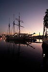 The tall ship Tole Mour at Rainbow Harbor in Long Beach, CA