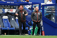 Middlesbrough's Ronnie Jepson reacts to the no foul call from officials<br /> <br /> Photographer Stephanie Meek/CameraSport<br /> <br /> The EFL Sky Bet Championship - Queens Park Rangers v Middlesbrough - Saturday 26th September 2020 - Loftus Road - London <br /> <br /> World Copyright © 2020 CameraSport. All rights reserved. 43 Linden Ave. Countesthorpe. Leicester. England. LE8 5PG - Tel: +44 (0) 116 277 4147 - admin@camerasport.com - www.camerasport.com