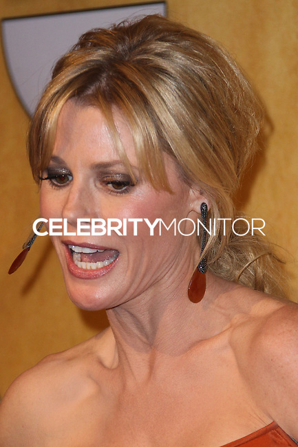 LOS ANGELES, CA - JANUARY 18: Julie Bowen in the press room at the 20th Annual Screen Actors Guild Awards held at The Shrine Auditorium on January 18, 2014 in Los Angeles, California. (Photo by Xavier Collin/Celebrity Monitor)