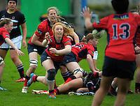 150904 NZSS Girls' Rugby Semifinal - Feilding HS v Southland Girls HS
