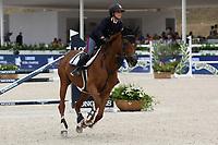 10th September 2021; Circo Massimo Stadium Rome, Italy; Longines Global Equestrian Champions Tour: Francesca Ciriesi