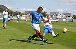 17.07.2021 Rangers B v Bo'ness Utd: Cole McKinnon and Michael Gemmell