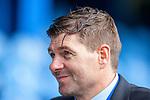 15.05.2021 Rangers v Aberdeen: Steven Gerrard soaked in champagne