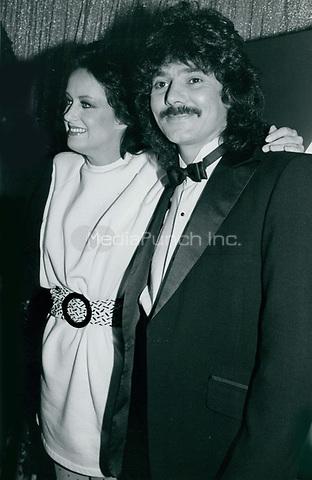 Grace Slick & Mickey Thomas 1977<br /> Photo By John Barrett-PHOTOlink.net / MediaPunch