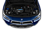 Car Stock 2020 BMW X2 M-Sport-X 5 Door SUV Engine  high angle detail view
