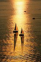 Aerial sailboats, Boston