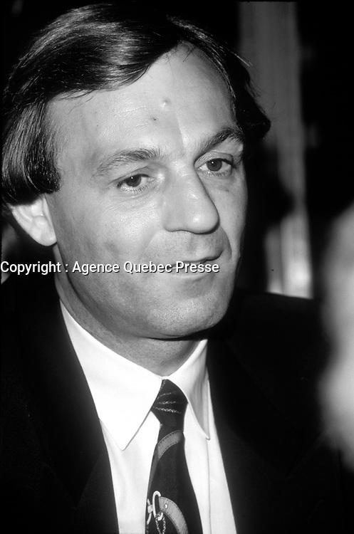 Guy Lafleur, vers 1988<br /> <br /> PHOTO :   agence Quebec Presse - Pierre Roussel