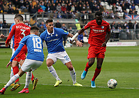 Silvere Ganvoula Mboussy (VfL Bochum) greift an - 07.03.2020: SV Darmstadt 98 vs. VfL Bochum, Stadion am Boellenfalltor, 2. Bundesliga<br /> <br /> DISCLAIMER: <br /> DFL regulations prohibit any use of photographs as image sequences and/or quasi-video.