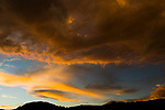 Clouds at sunset, Abra Granada, Andes, northwestern Argentina